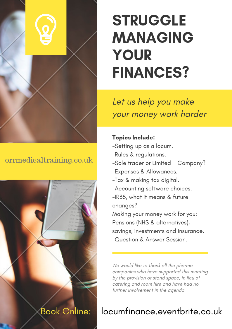 Locum Finance Flyer2