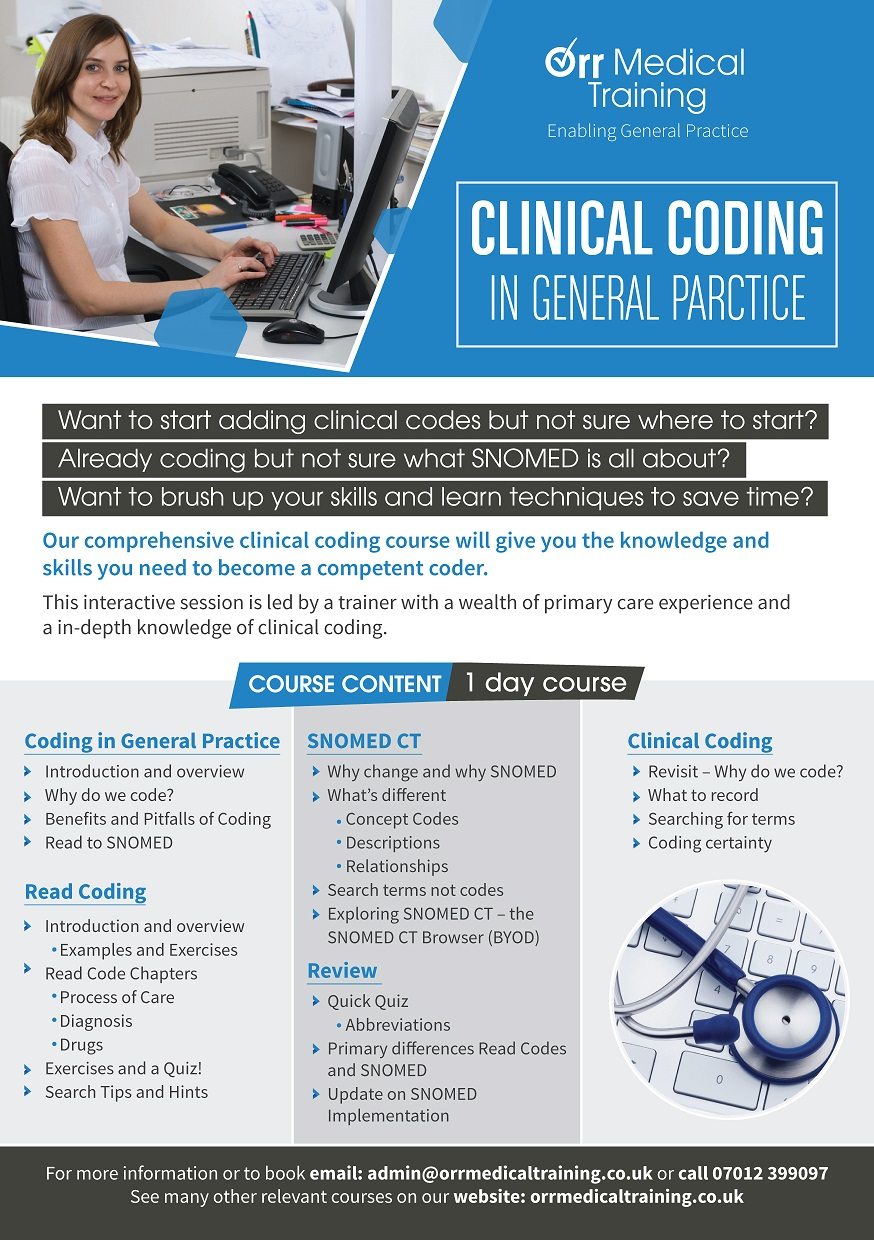 Clinical Coding Flyer