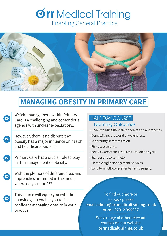 Obesity Management Flyer