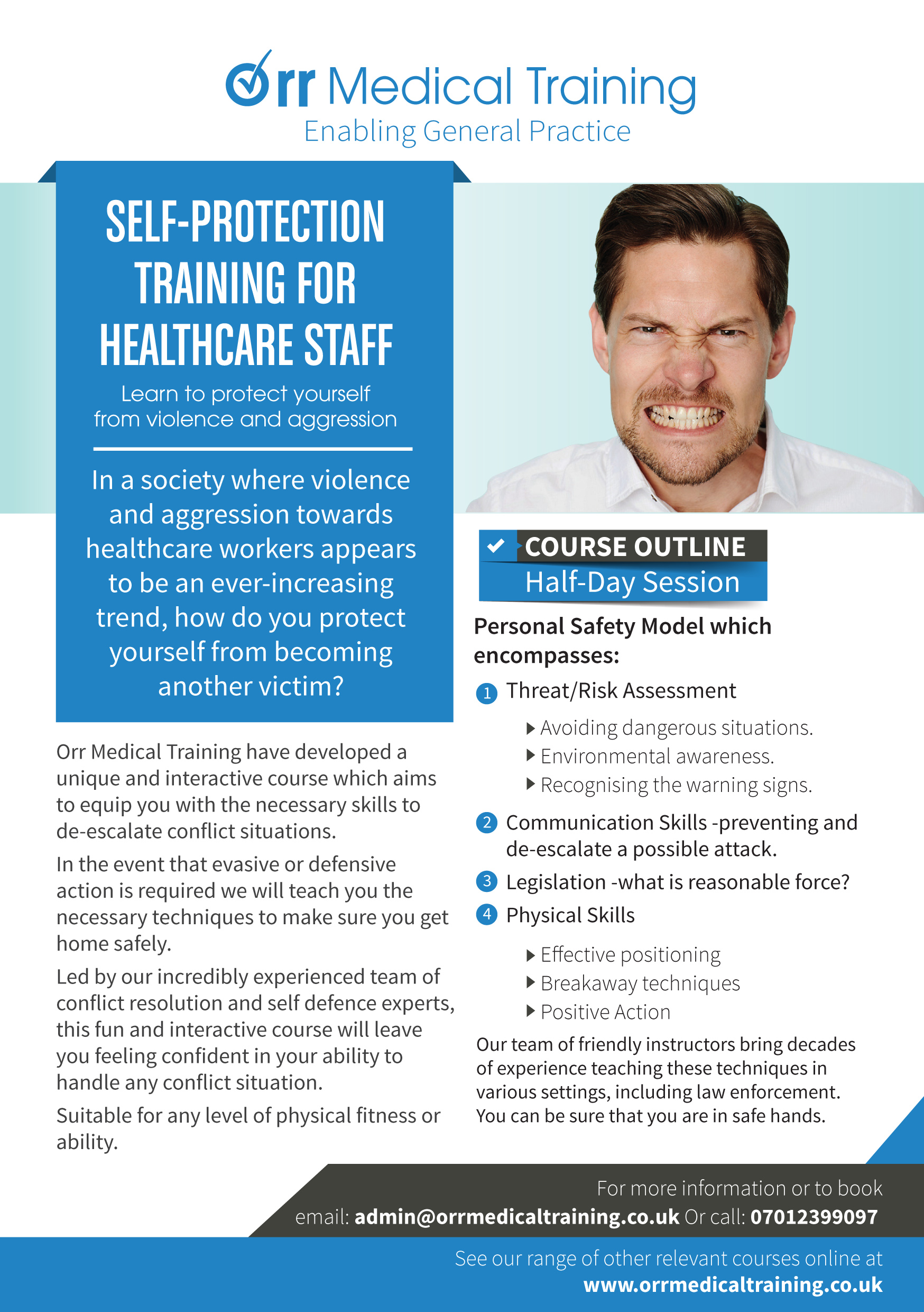 Self-Protection Training For Healthcare Staff