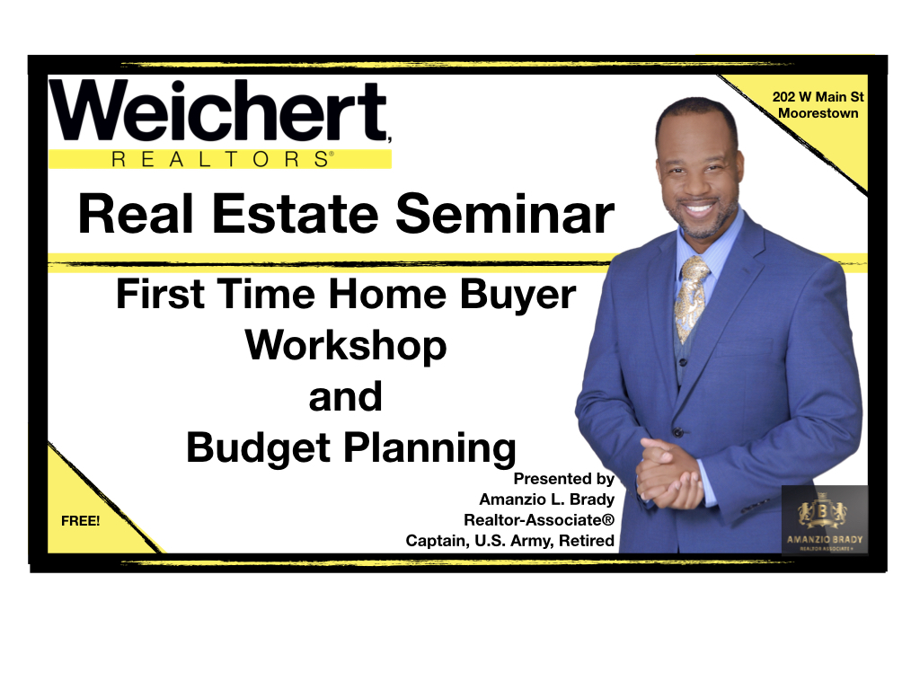 First Time Home Buyer Workshop Announcement