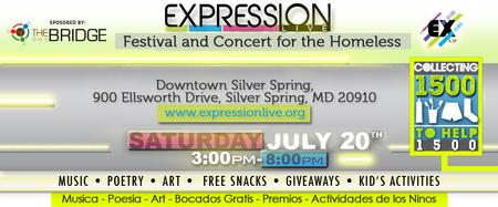 Expression Live: Festival and Concert for the Homeless
