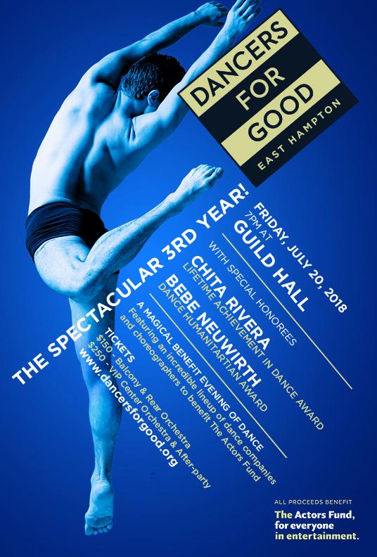 Dancers For Good 2018 Invite