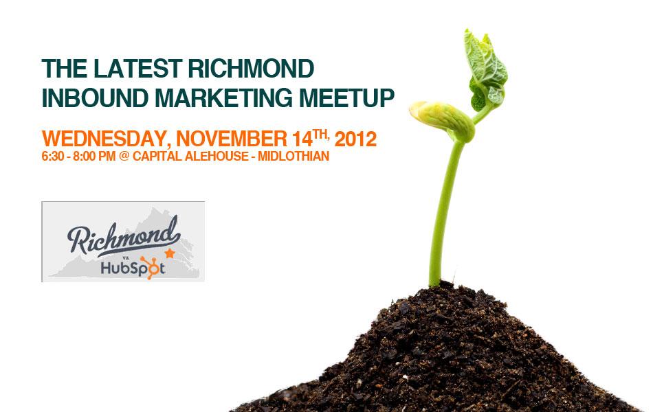 Richmond Inbound Marketing Meetup - a HubSpot User Group