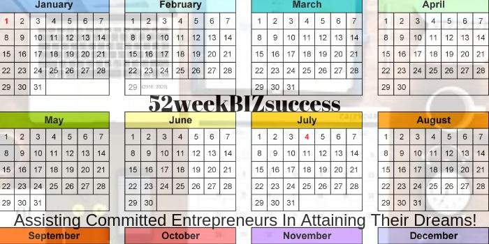 52 week Biz Calendar