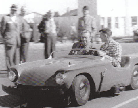 Bob Gurr and Walt Disney