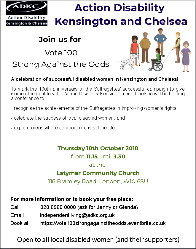 Strong against the odds flyer