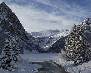 Lake Louise in Winter, © www.brianmerry.ca