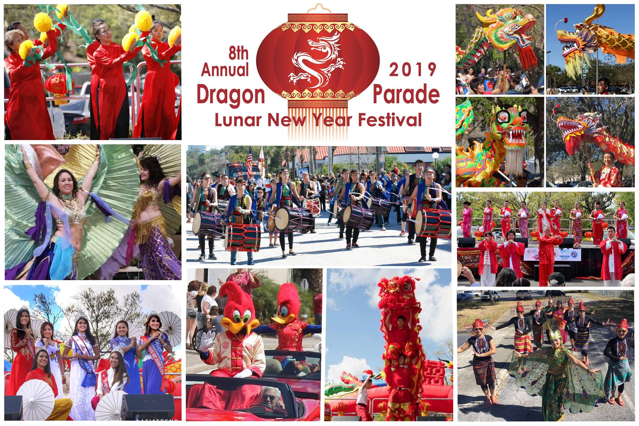 Dragon Parade Lunar New Year 2019