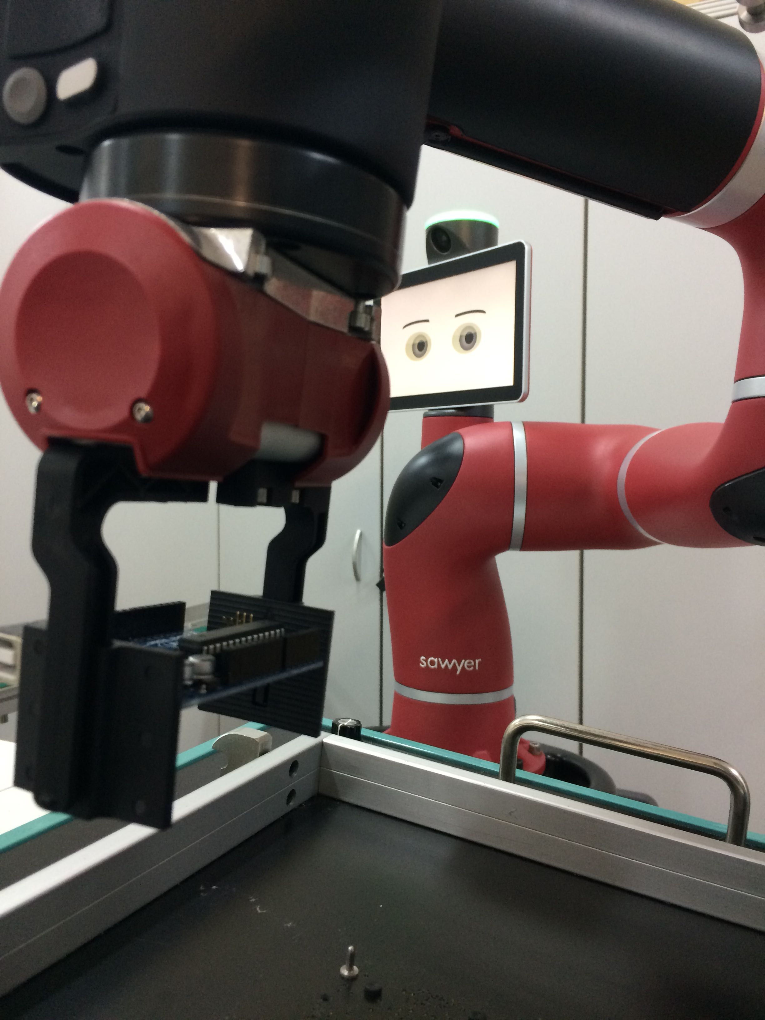 Lean Robots - Cobot Sawyer