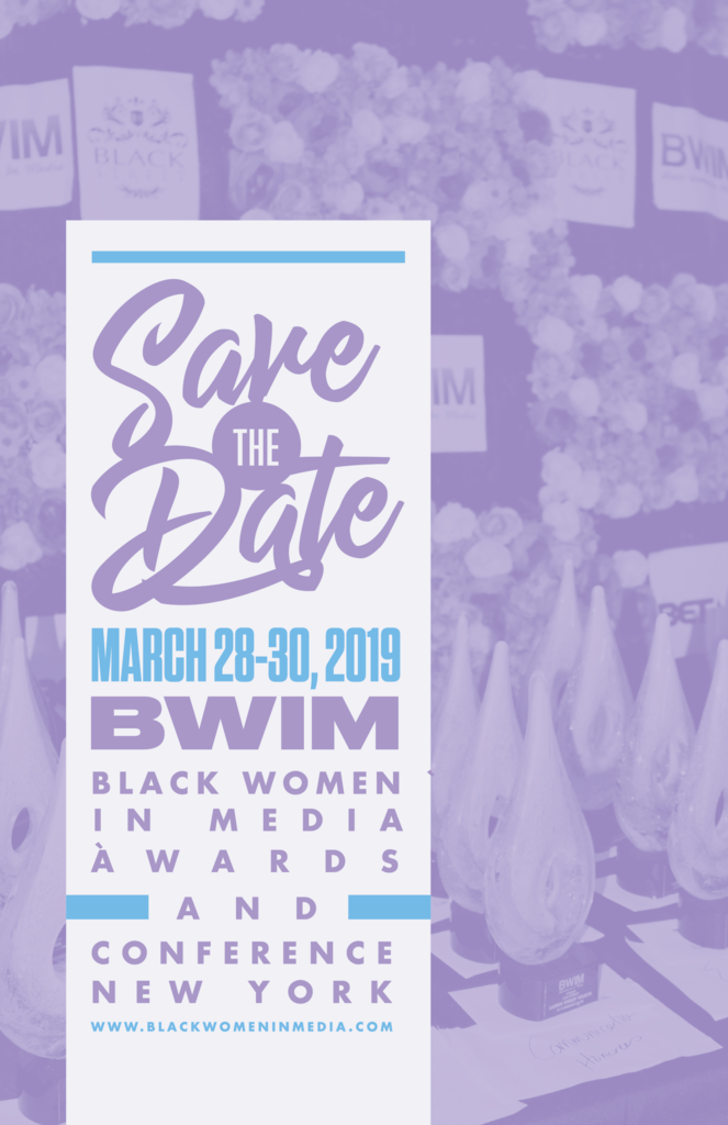 Black Women In Media Awards & Conference Save-The-Date