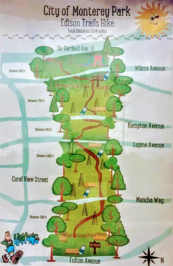 Edison Trails Map