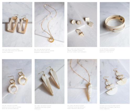 Beautiful handmade eco friendly jewelry