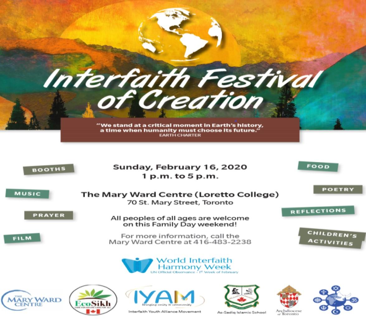 Interfaith Festival of Creation