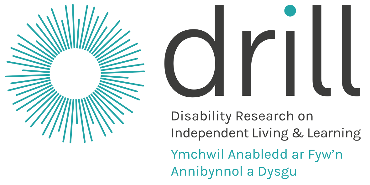 DRILL logo Disability research into independent living and learning