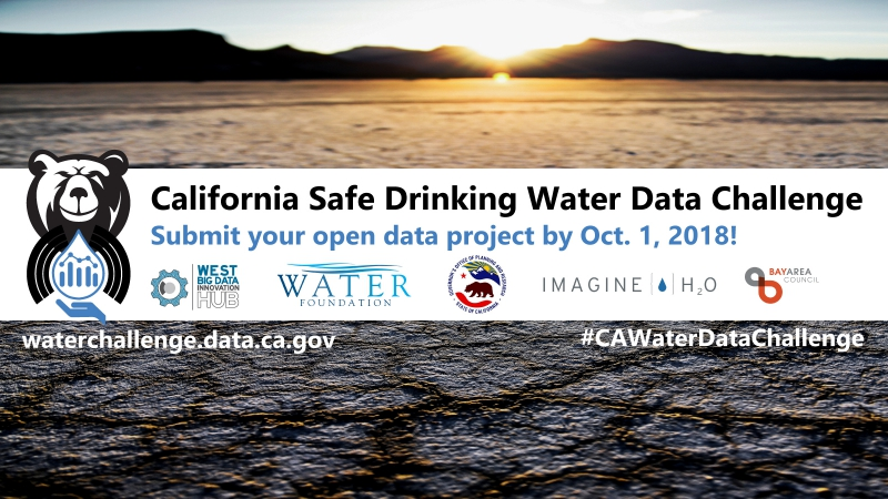 Submit your Open Data Project by October 1 | West Big Data Innovation Hub + Water Foundation + California Governor's Office + Imagine H2O + Bay Area Council