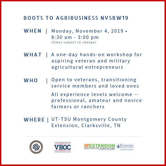 Boots To AgriBusiness NVSBW19 Details