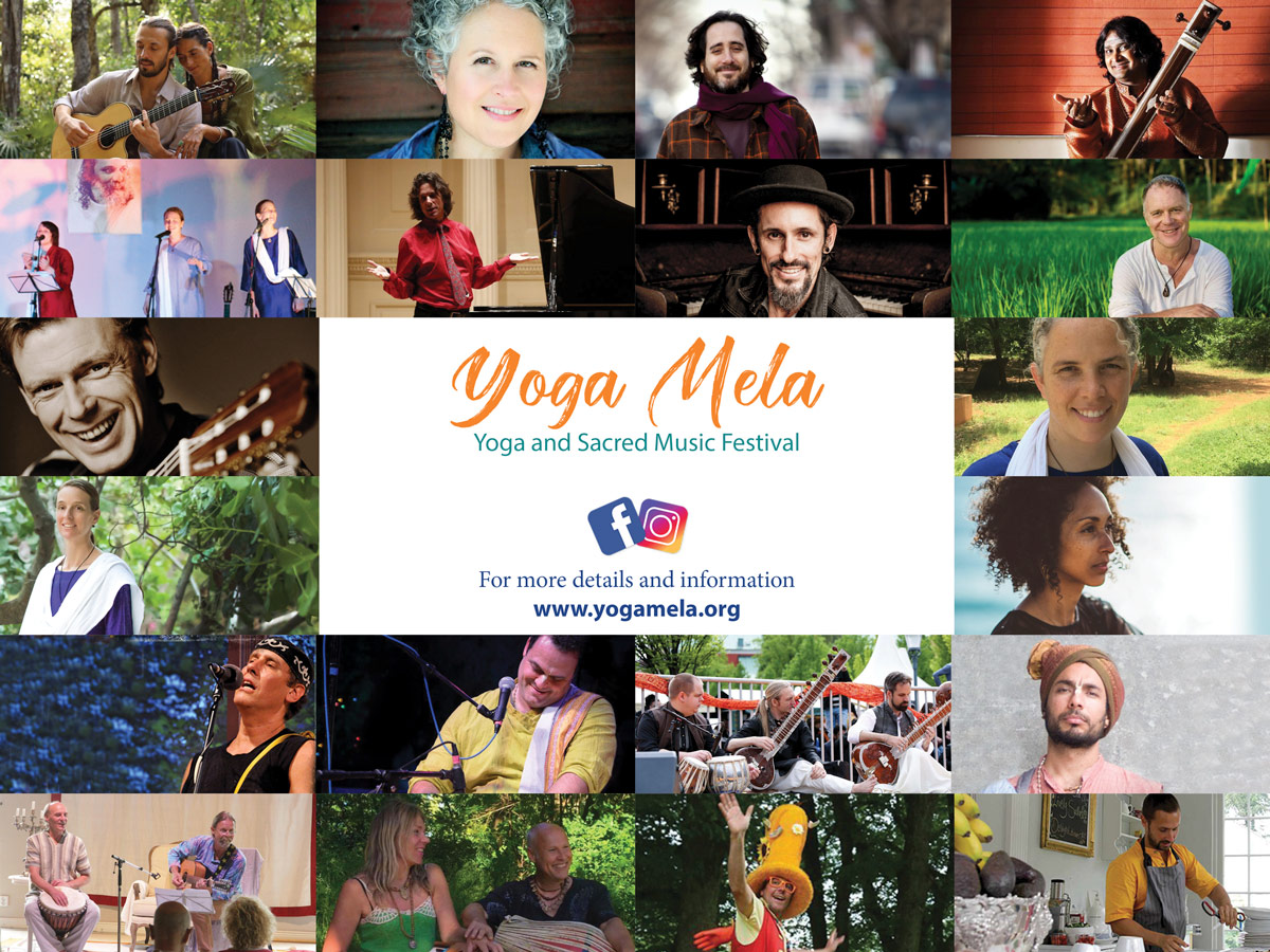 Yoga Mela Festival 2019 - Artist Collage