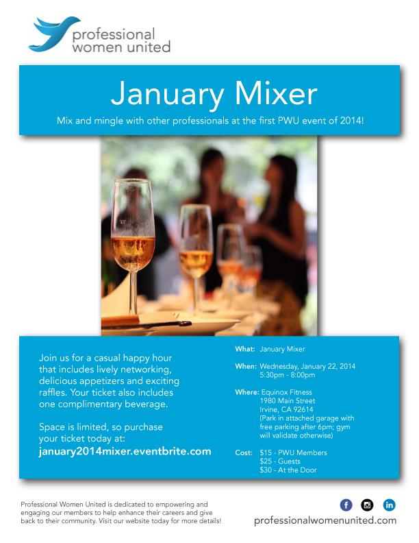 January Mixer
