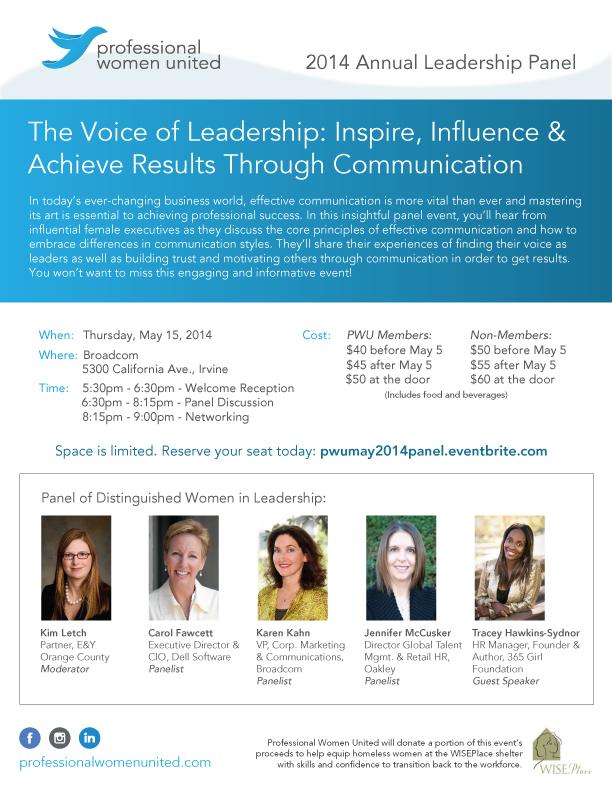 2014 Annual Leadership Panel