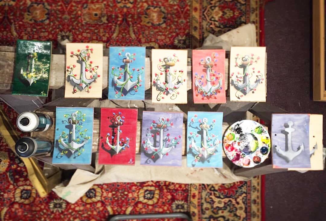 Anchor on Canvas