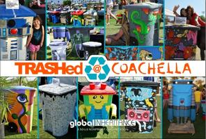 TRASHed Coachella Art Exhibit