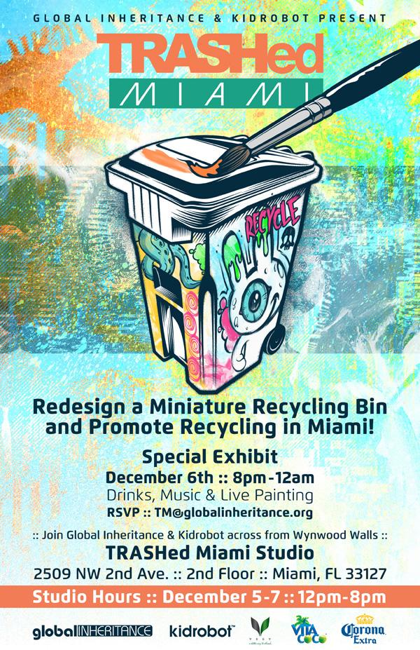 TRASHed Miami 2013 Invite
