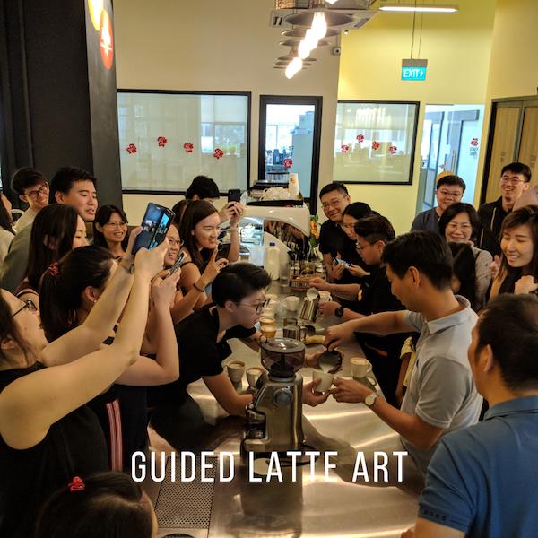 guided latte art