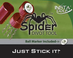 Insta Golf's Spider Divot Tool