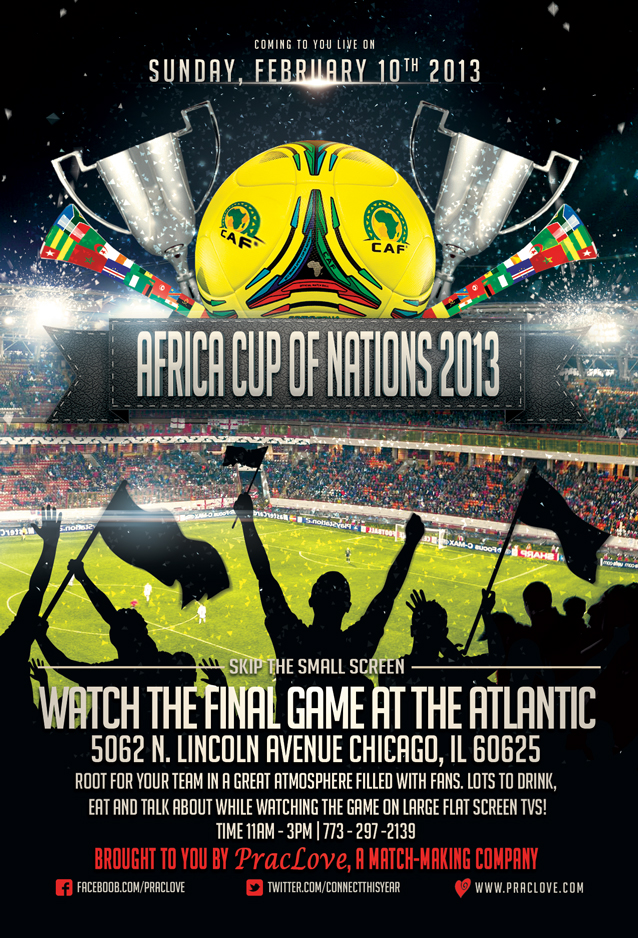 Africa Cup of Nations Final Game 2013
