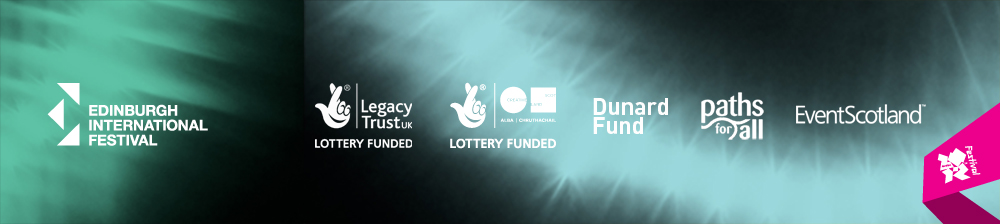 E.I.F., Legacy Trust UK Lottery Funded, Creative Scotland, Dunard Fund