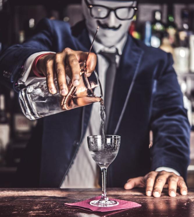 Crazy gin sponsor