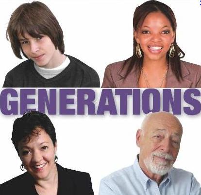 Millennials, gen x, boomers, matures