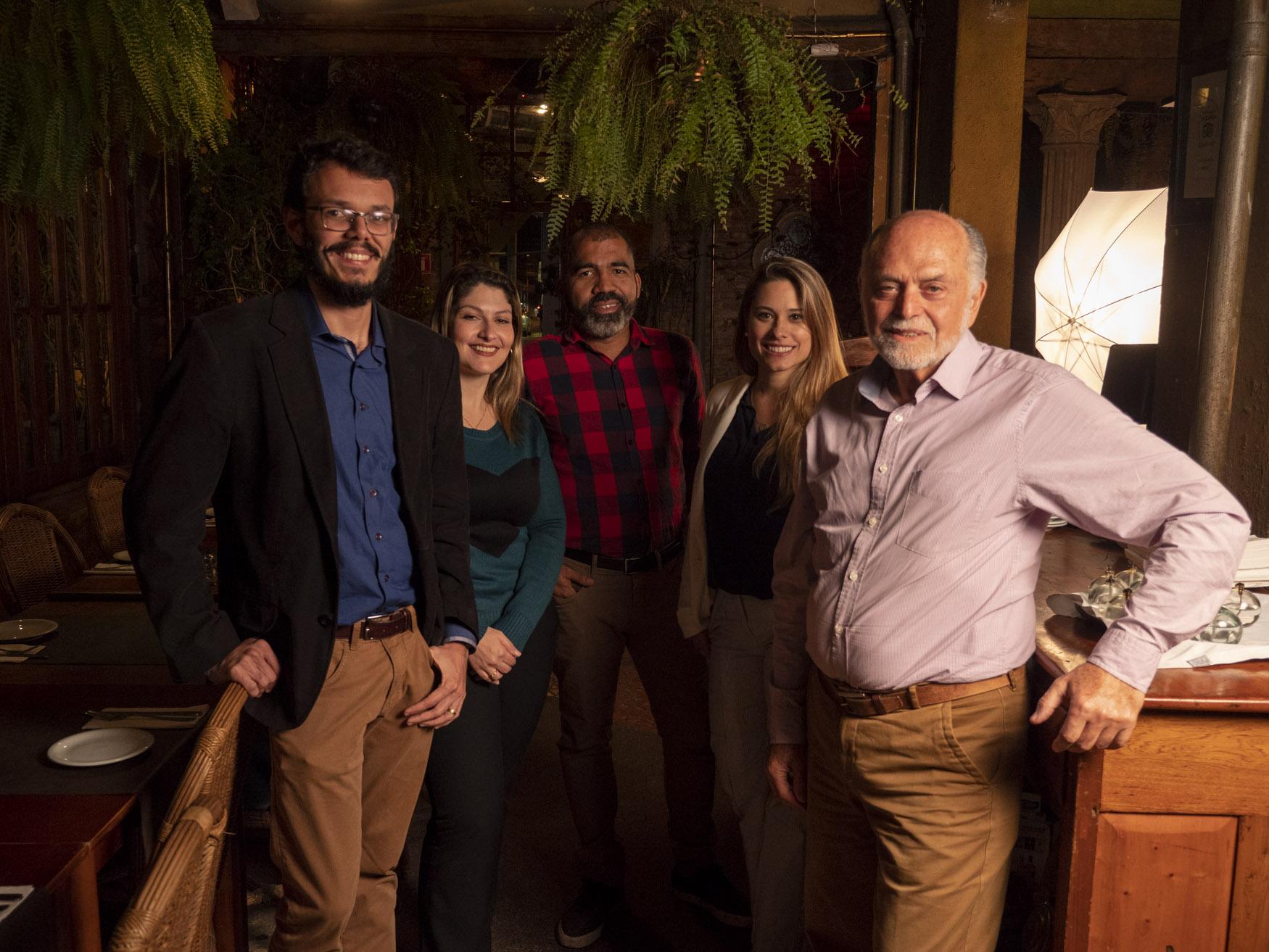 Professores do DNA Empreendedor no Café Journal