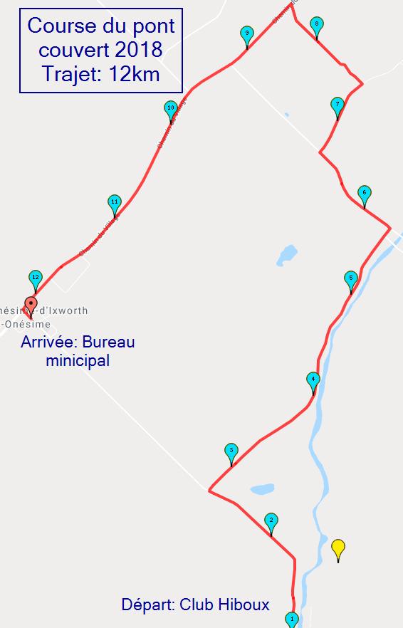trajet 12km