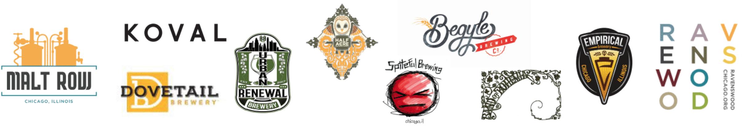 Malt Row Brewery Logos