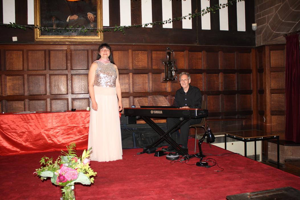 Nicole Bartos, Soprano and Richard Meritt, piano