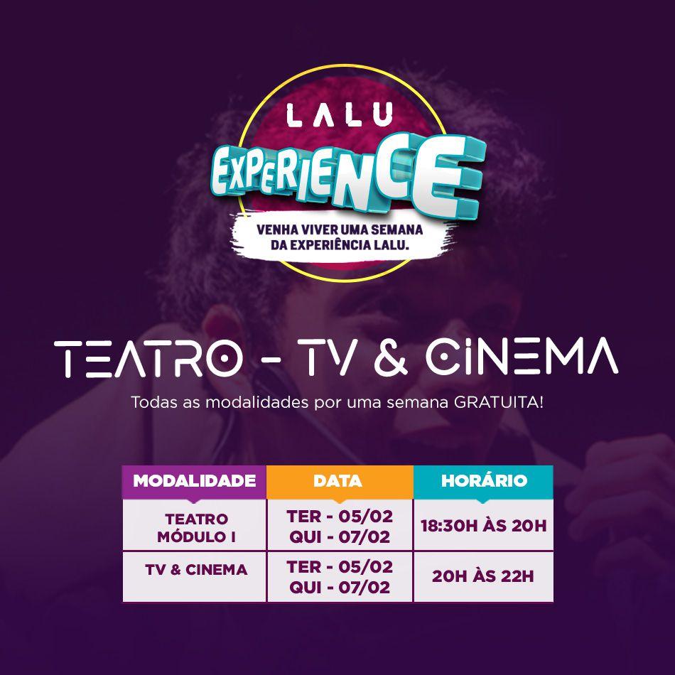 Lalu Experience - Tv e Cinema