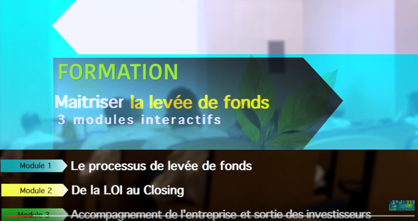 Formation Atelier Comment lever des fonds