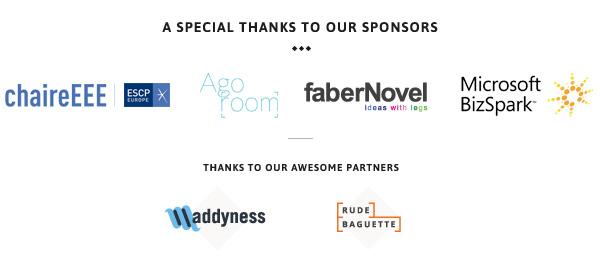 UXD4startups #2 sponsors&partners