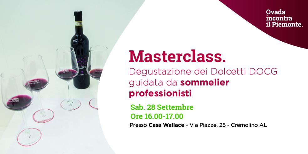 Biglietto di ingresso Masterclass Degustazione Vini Dolcetto