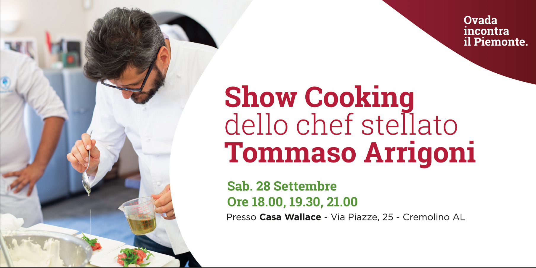 Biglietto Showcooking Tommaso Arrigoni