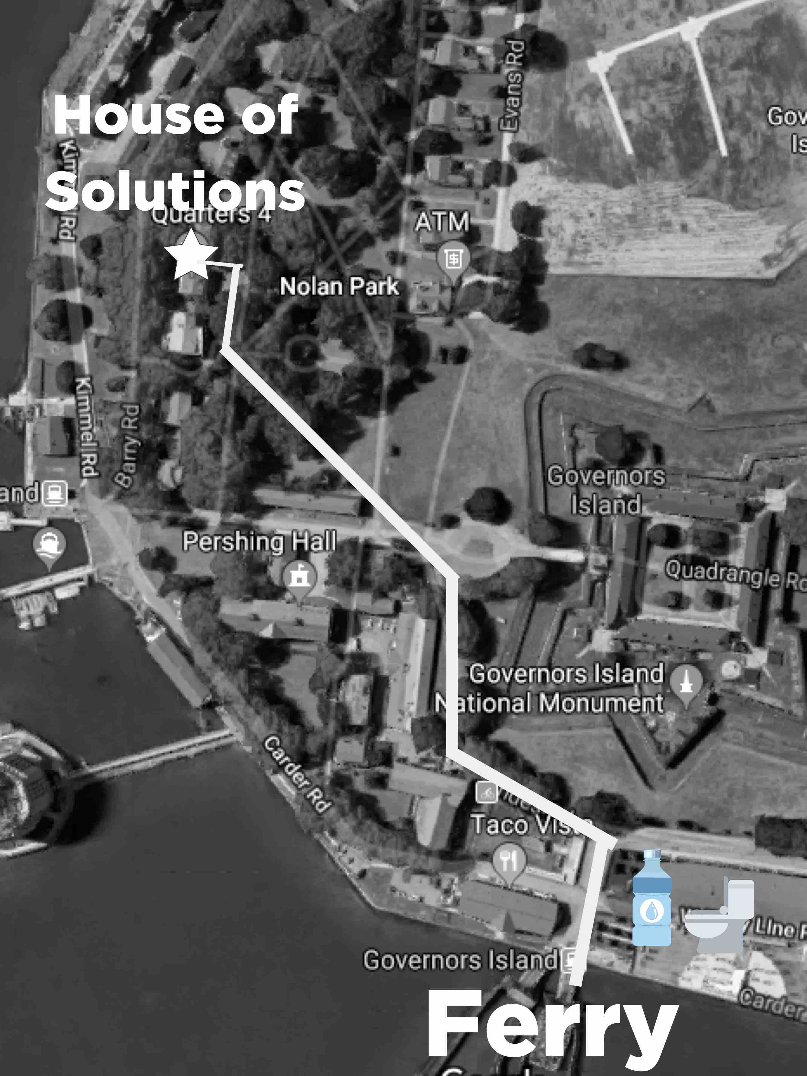 How to get to House of Solutions