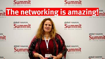 Lynne Gazit, Global Sources Summit attendee