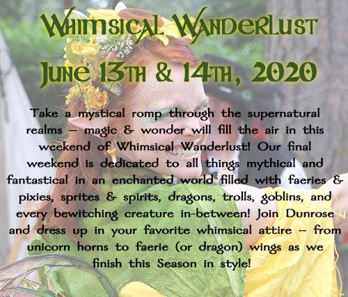 Whimsical Wanderlust 2020