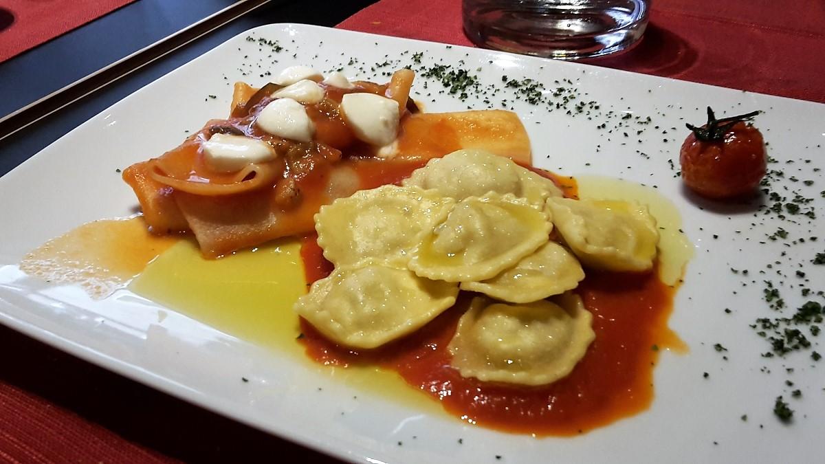 Italian food in Verona