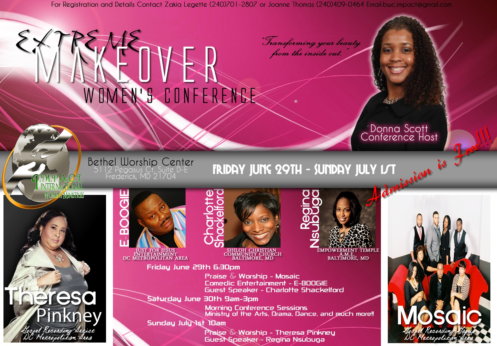 Extreme Makeover Conference
