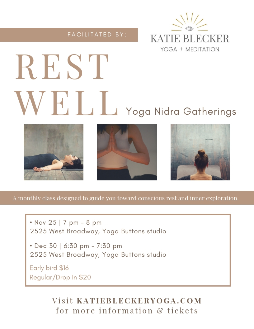 REST WELL Promo Flyer