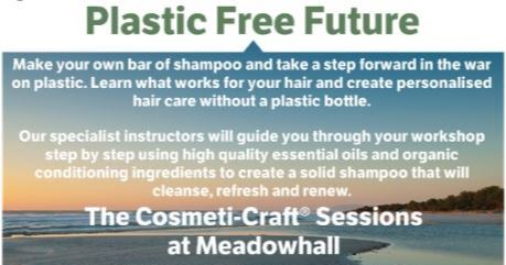 plastic free future shampoo bar making workshop