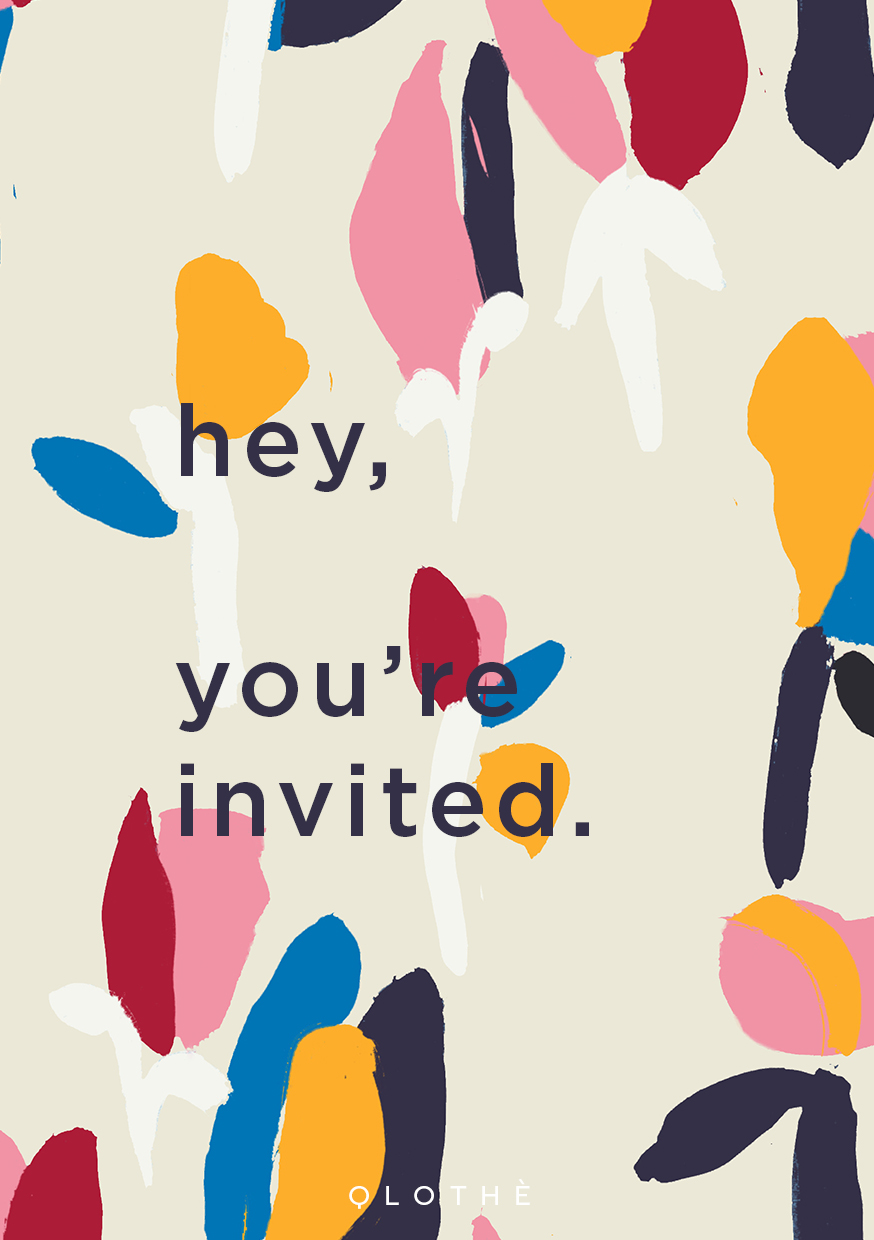 hey, you're invited.